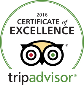 Hummingbird House Sedona Awarded TripAdvisor® Certificate of Excellence for 2016