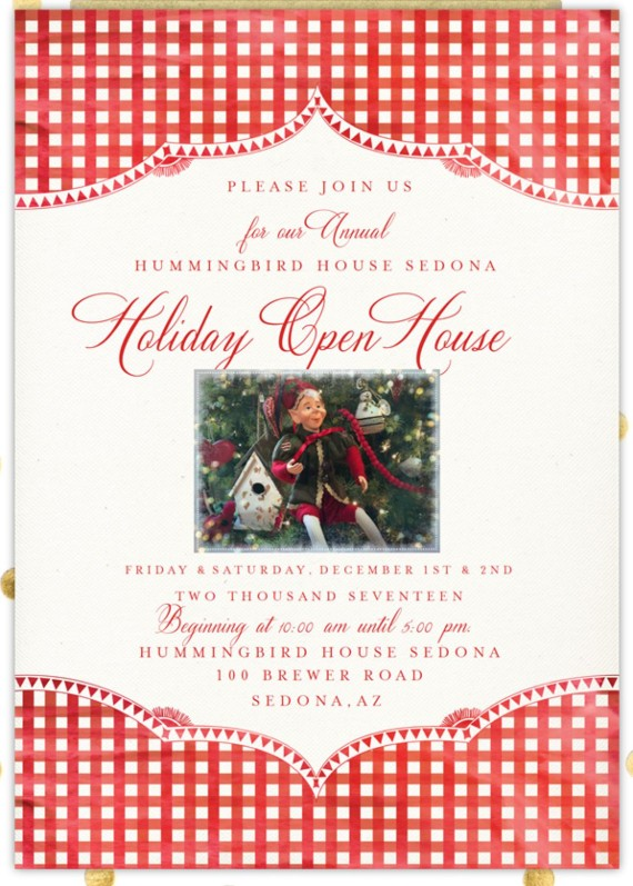 Holiday Open House Dec 1-2, 2017